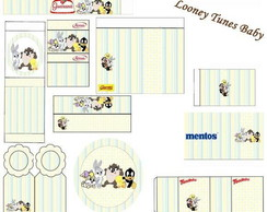 Kit Festa Baby Looney Tunes