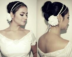 Headband NOIVA branco ou off white