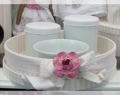 Ref 1727psb KH - Redondo porcelana