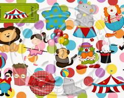 Artes para Festa Circo