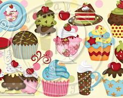 Artes para Festa Sweet