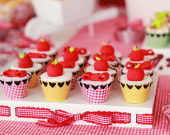 Wrapper para mini cupcakes