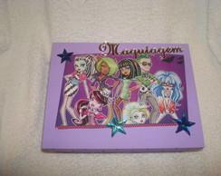 Caixa de Maquiagem Monster High