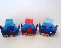 Forminhas para doces tema fundo do mar