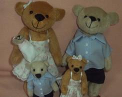 Fam�lia Urso Pel�cia