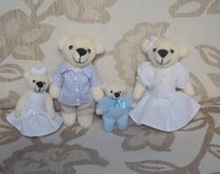 Fam�lia Urso Pequena