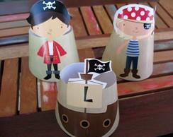 Paper Toy Piratas