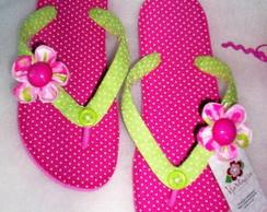 Sand�lias Havaianas Customizadas