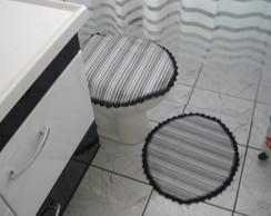 jogo de banheiro c duas pe�as em corino