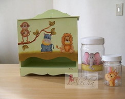 Kit higiene com Decoupage