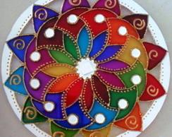 Mandala Dan�a das Cores