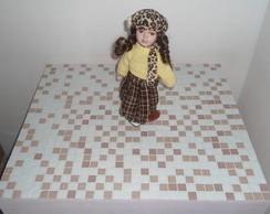 Ba� em mdf com mosaico
