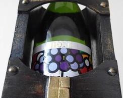 Embalagem para garrafa de vinho