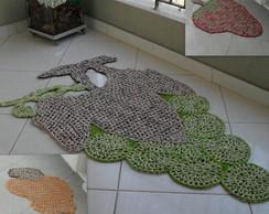 tapetes artesanais de barbante