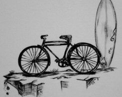 Bicicleta Surf :: S�rie Tatoo