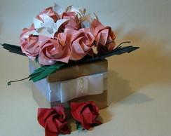Arranjo de Rosas e L�rios