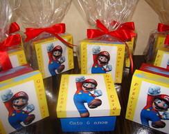 Lembrancinha Super Mario Bross