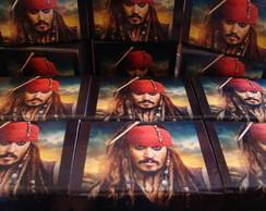 Lembrancinha Piratas do Caribe