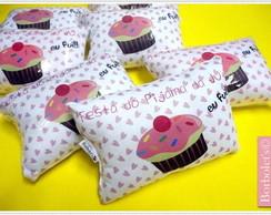 Naninhas festa do pijama Cupcakes