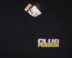 Camiseta Club Penguin Bordado -Modelo 47