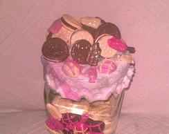 Porta Biscoitos e Chocolates em Biscuit