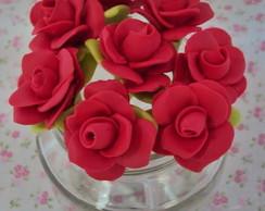 Colher Para Brigadeiro Rosas