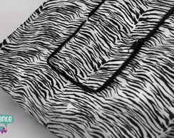 Sacola Dobr�vel - Estampa Zebra