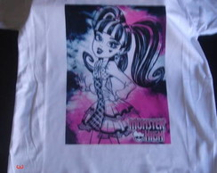 Camiseta Personalizada Monster High