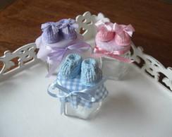 Lembran�a de nascimento sapatinhos