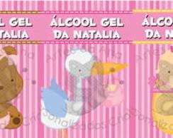 �lcool Gel - Menina
