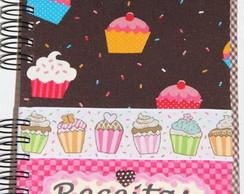 Caderno de Receitas Cupcake