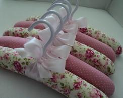 """Cabide Infantil ! """"Sonho em floral rosa"""""""