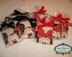 Avental de pintura - Mickey e Minnie