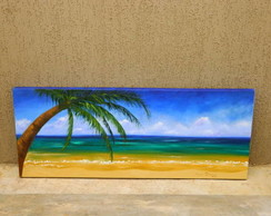 Tela - Praia imagem panor�mica
