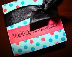 Personalizada Caixa em MDF