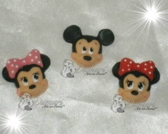 MINNIE ROSA - MICKEY - DISNEY - APLIQUES