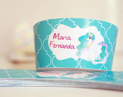 Wrappers de Cupcake  tema My Lille Pony