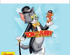R�tulo para Batom Tom e Jerry