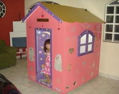 Casa de boneca grande