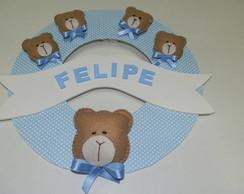 Enfeite Porta de Maternidade - Felipe