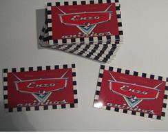 Etiqueta adesiva carros