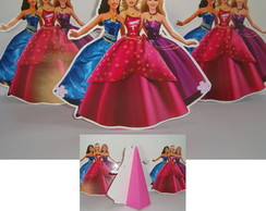 Torre bonecos Barbie escola de princesas