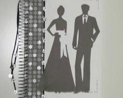 Caderno de assinaturas casamento ESGOTAD