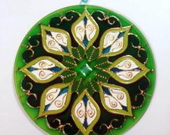 Mandala Verde 8 P�talas