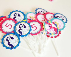 Toppers de Cupcake My Little Pony