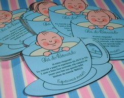 Convite personlizado Ch� de beb�