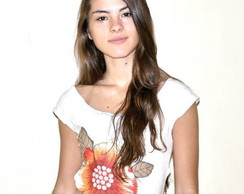 Camiseta-  Flor de Chita