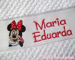 Toalha Infantil Minnie - Branco