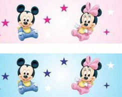 Faixa Disney baby.