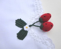 Pano de Prato - Bico Crochet